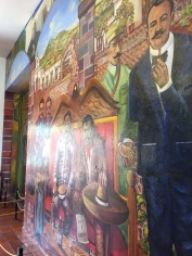 Mural en la recepción