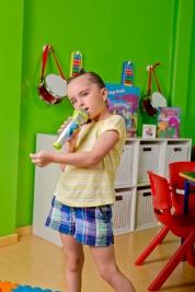 Barney Music Room