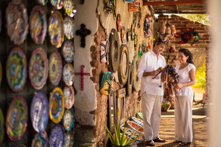 Shopping at Todos Santos